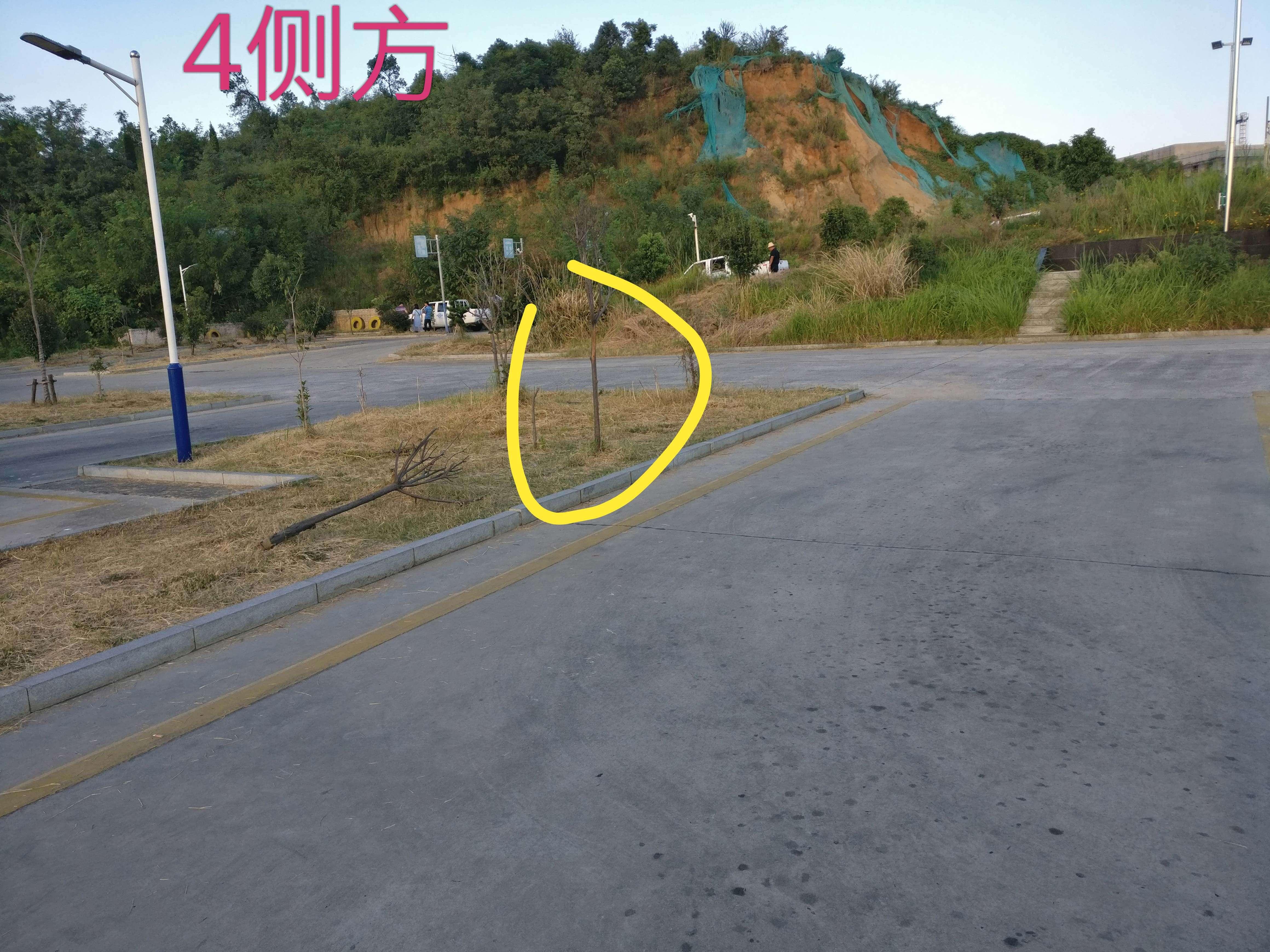 江西省庐山市星子科目二侧方位停车4